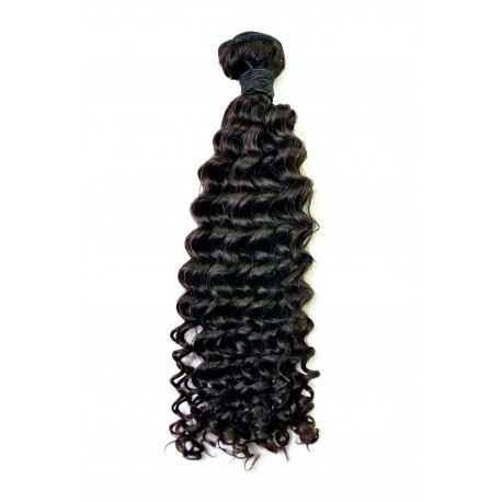 Tissage Remy Hair Péruvien Bouclé 10 pouces