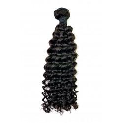 Tissage Remy Hair Péruvien Bouclé 18 pouces