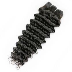 Tissage Remy Hair Brésilien Bouclé 12 pouces