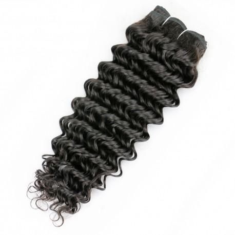 Tissage Remy Hair Brésilien Bouclé 14 pouces