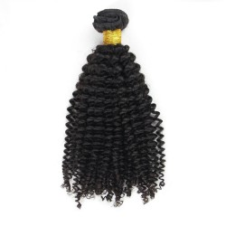 Tissage Remy Hair Brésilien Frisé 14 pouces