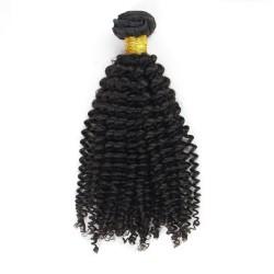 Tissage Remy Hair Brésilien Frisé 16 pouces